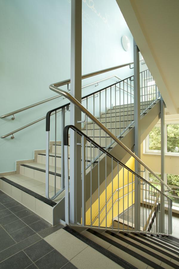 Treppenhaus | Farbleitsystem