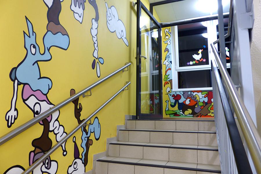 Aufgang zur 3. Etage | Fertig